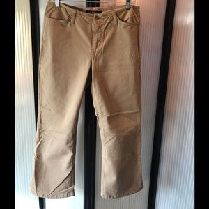 NWOT never worn Theory stretch khaki jeans.